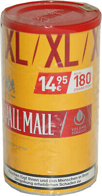 3x Pall Mall Volumen-Tabak allround Red 2x83g+1x78g=244g Box o. Bilder   14,95€