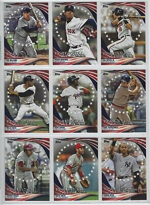 2019 Topps Update Perennial All-Stars Complete Your Set U Pick Buy 5 Get 2 FREE!