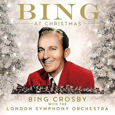 BING CROSBY With The London Symphony Orchestra 'BING AT CHRISTMAS' CD (2019)