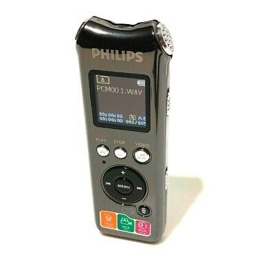 Philips VTR8000 Voice Tracer / Integrated Camera & PCM Recording