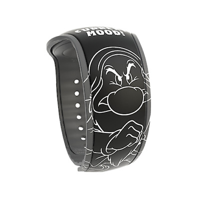 Disney Parks Snow White Sketch Grumpy Current Mood MagicBand 2 Magic Band NEW