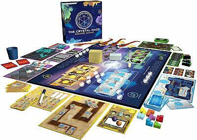 The Crystal Maze Board Game - Brand New and Sealed