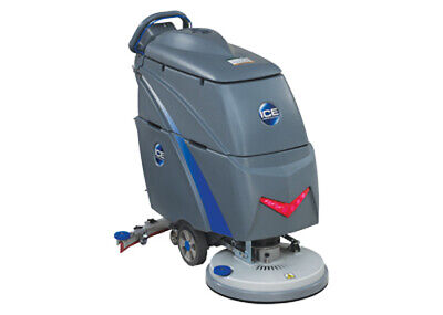 """20"""" Brush-Assisted Battery Scrubber ; 15 Gl / 17 Gl, 30"""" Squeegee, On-Board Char"""