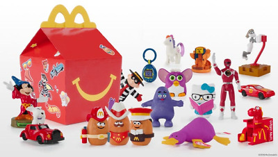2019 McDonalds RETRO 40TH ANNIVERSARY SURPRISE Happy Meal Toys COMPLETE SET (17)