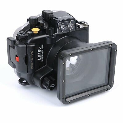 Meikon 40m Waterproof Diving Case Cover For Panasonic LX100 24-75mm Camera