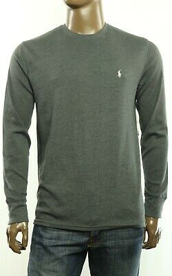 New Mens Polo Ralph Lauren Sleepwear Crew Neck Waffle Knit Thermal Shirt Tee L