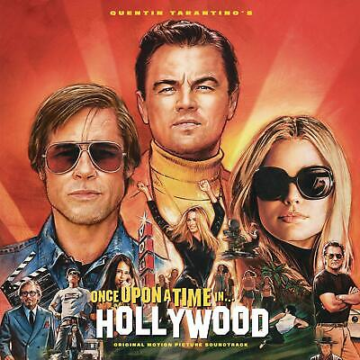 ONCE UPON A TIME IN HOLLYWOOD (Soundtrack) Orange Coloured Double VINYL LP (2019