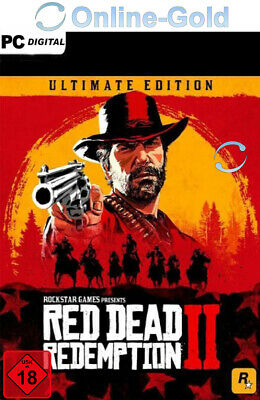 Red Dead Redemption 2 Ultimate Edition - PC Key Rockstar Games Code - DE/Global