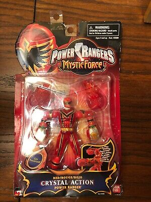NEW NOS Power Rangers Mystic Force Morpher SEALED CASE of 6 Bandai 2006 LOOK!!