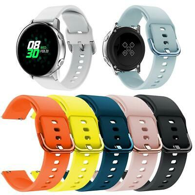 Replacement Silicone Wristband Watch Strap for Samsung Galaxy Watch Active 20mm