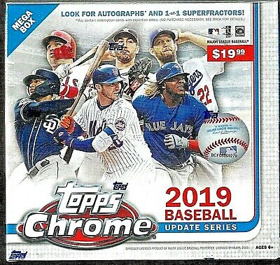 2019 Topps Chrome Update ~ Mega Box ~ Factory Sealed