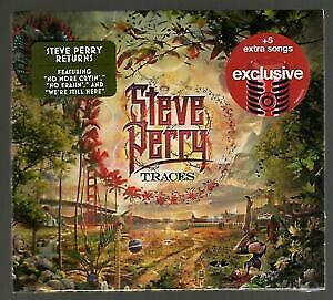 New Sealed Steve Perry Traces + 5 tracks Target Edition CD
