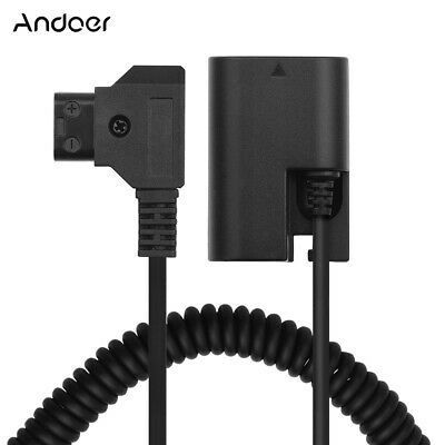 Andoer D-Tap to LP-E6 DC Coupler Adapter Fully Decoded Dummy Battery L5Z2