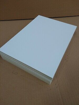 FOAMBOARD - 5 mm A4 10 sheet pack -  White Foam Core Board