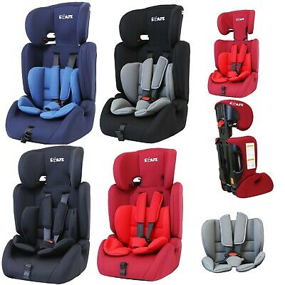 iSafe 3 in 1 Child Baby Car Seat Safety Booster Group 1 2 3 9-36kg ECE R44/04 UK