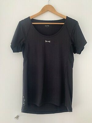 Ladies USA Pro Sport Top L Black Casual Polyester <JS3453