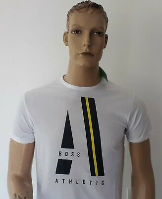 Hugo Boss men/'s crew neck Short Sleeve Green Label t shirts