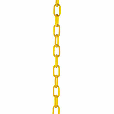 NEW! Plastic Chain 10mm Short Link 25 Metre Yellow 328275