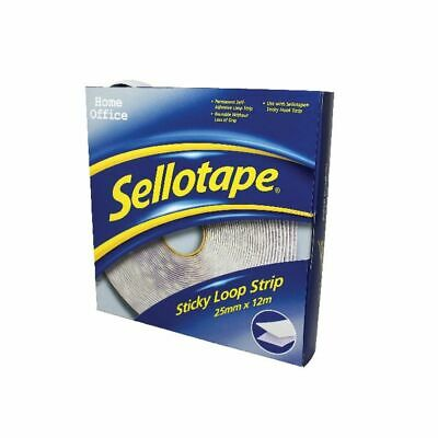 NEW! Sellotape Sticky Loop Strip 12m 1445182