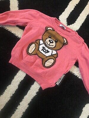 Authentic Moschino Baby Jumper 9-12 Months