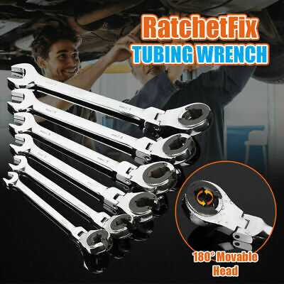 Ratchet Fix Wrench with Flexible Head too (12Pcs + Case)