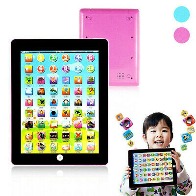 Baby Tablet Educational Toys Laptop Touch 1-6 Year Old Toddler Learning English!