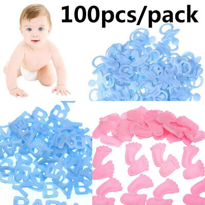 Bib Table Decoration Party Supplies Birthday Confetti Baby Shower Decor