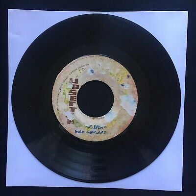"BOB MARLEY WAILERS Mr Brown UPSETTERS Jamaica 7"" 45 VINYL REGGAE ROOTS"