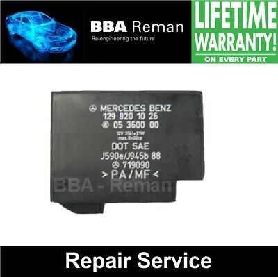 Mercedes SL500 2001 Control Module *Repair with Lifetime Warranty!*