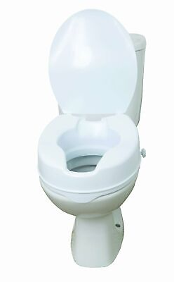 Drive 6 Inch Raised Toilet Seat with Lid