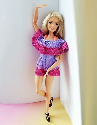 Mattel Barbie Made to Move, comes with an outfit and shoes, mint