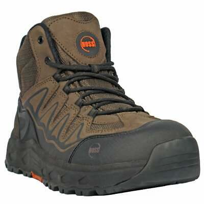HOSS Boots Eric Hi Soft Toe  Casual   Work & Safety - Brown - Mens