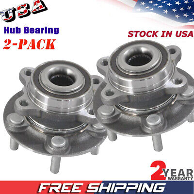 Pair Set of 2 Front Timken Wheel Bearing Hub Kit for Ford Fusion Lincoln MKZ AWD