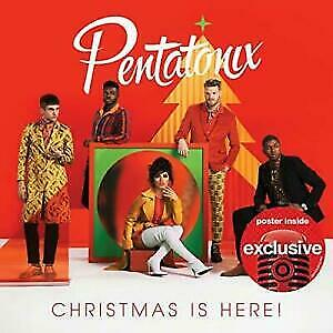 Pentatonix Christmas Is Here! CD With Poster (Target Exclusive) Brand New Sealed