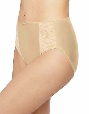 Bali Double Support Hi Cut Panty Underwear Lace Panties Womens Double Support