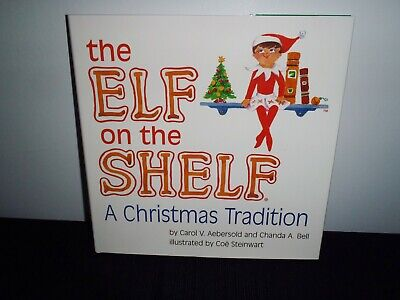 Elf on the Shelf A Christmas Tradition BOOK ONLY Hardcover Book Girl