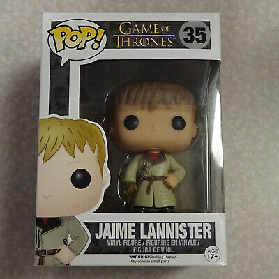 Funko Pop! Game of Thrones Jaime Lannister (Gold Hand) #35 VAULTED