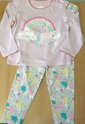 TU Baby Girls 2 piece Unicorn outfit 18-24 months