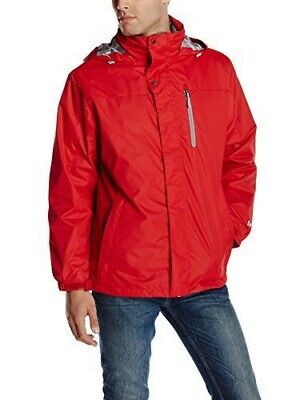 XL White Sierra Men's Three Season Systems Jacket Tango Red NEW