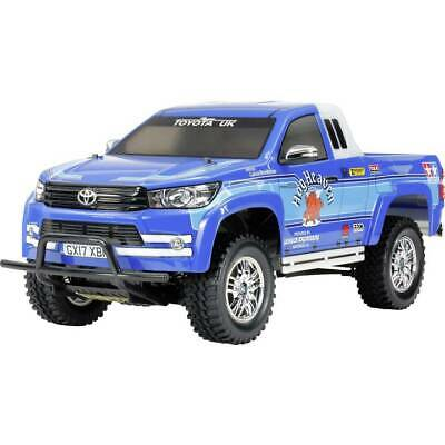 Automodello Tamiya Toyota Hilux Extra Cab Brushed 1:10 Fuoristrada Elettrica 4Wd