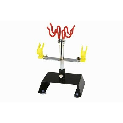 Airbrush Holder Holding 4 Clamp-On Mount Table Bench Station Gravity Tool N0B4