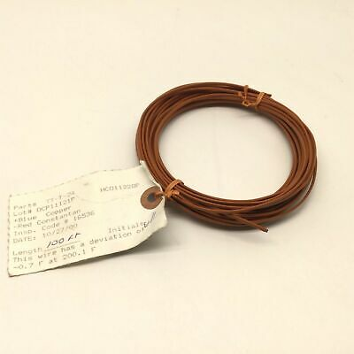 "Omega TT-T-24 Type ""T"" Thermocouple Wire, Max Temperature 200°C/400°F, 50 Feet"