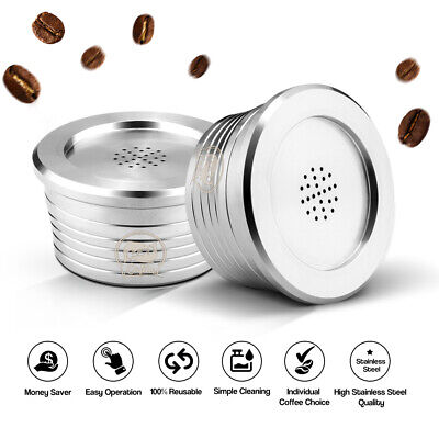 Reusable Refillable Coffee Capsules Cup Filter Stainless Steel For Delta Q