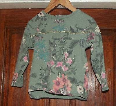 Girls Next Floral Jumper Age 2 - 3 Years