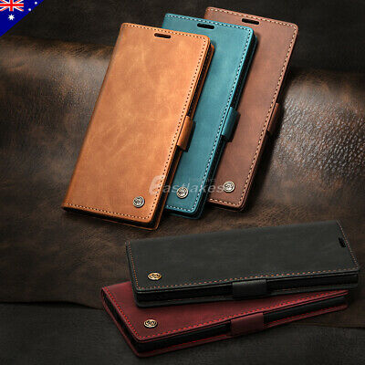 Leather Card Stand Wallet Case Cover Shockproof for Samsung S10 Note 10 Plus 5G