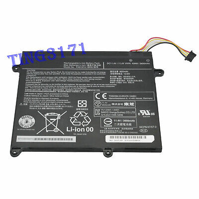 PA5137U-1BRS Genuine Battery For Toshiba Portege Z10t-A-13R Z10T-A-13V 3600mAh