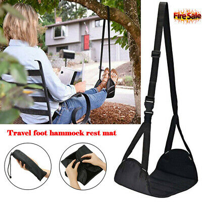 Comfy Travel Hanger Airplane Footrest Made with Premium Memory Foam Hammock Foot