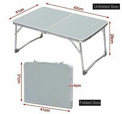 2FT Portable Folding Picnic Desk Laptop Table Bed Sofa Dinner Computer Lazy Tray