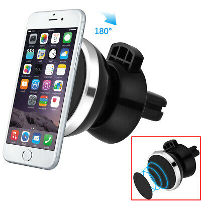 In Car Magnetic Phone Holder Fits Air Vent Universal Mount Various Models
