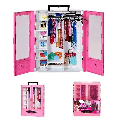 Barbie Fashionistas Ultimate Closet Portable Fashion Toy Playset Christmas Gift